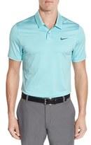 Nike Men's 'Control' Dri-Fit Stripe Jersey Golf Polo