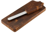 Dansk CLOSEOUT! Wood Serveware, Classic Fjord Bread Cutting Board with Knife