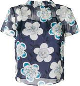 Emporio Armani floral print blouse