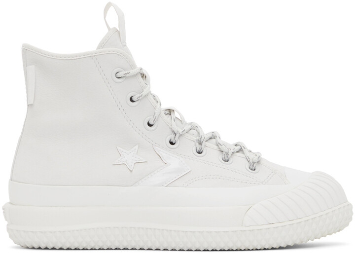 Thumbnail for your product : Converse Beige Gore-Tex Bosey MC High Top Sneakers