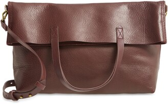 Madewell The Foldover Transport Tote