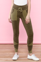 Free People Olive High-Waist Leggings