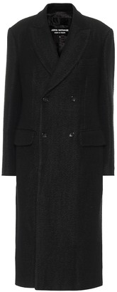 Junya Watanabe Linen and wool coat