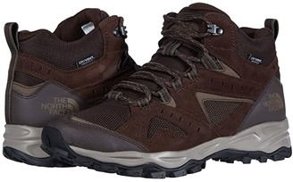 The North Face Trail Edge Mid Waterproof (Demitasse Brown/Bipartisan Brown) Men's Shoes