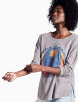 Lucky Brand Lotus Moon Pullover