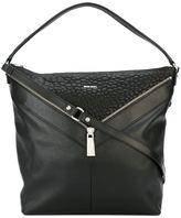 Diesel zipped shoulder bag
