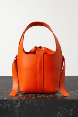 IOANNES Bento Leather Tote - Orange