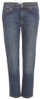 Acne Studios Row Cropped Straight-leg Jeans