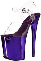 Pleaser USA Women's FLAM808/C/PPCH Platform dress Sandal