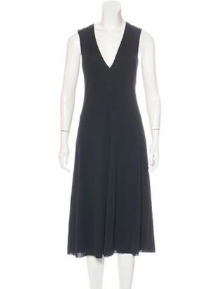 Calvin Klein Collection Sleeveless Midi Dress w/ Tags Black