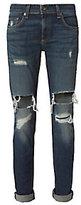Rag & Bone JEAN Dre Mission Deconstructed Jeans
