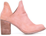 Officine Creative cut-out ankle boots - women - Leather - 39