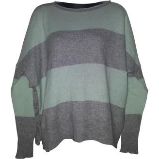 360 Sweater Grey Cashmere Knitwear for Women