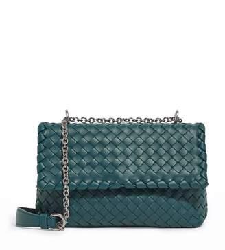 Bottega Veneta Baby Leather Olimpia Shoulder Bag