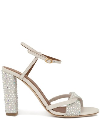Malone Souliers Tara crystal-embellished sandals