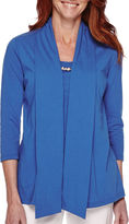 Sag Harbor Bahama Mama 3/4-Sleeve Layered Top