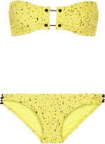 Proenza Schouler Printed bandeau bikini