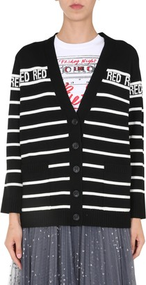 RED Valentino V-neck Cardigan