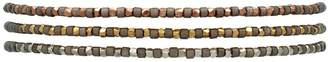 Slinky Set Of Three Bracelets