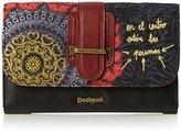 Desigual Lengueta Red Garden Wallet