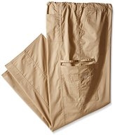 Cherokee Men's Big and Tall Ww Core Stretch Unisex Drawstring Cargo Scrub Pant