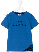 Karl Lagerfeld letters T-shirt - kids - Cotton - 2 yrs