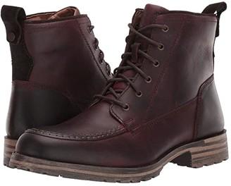 Lucky Brand Garrison (Black Distressed Full Grain) Men's Shoes