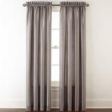 Royal Velvet Plaza Thermal Interlined Rod-Pocket Curtain Panel