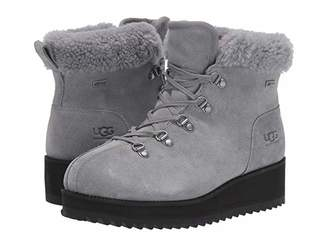 UGG Birch Lace-Up Shearling (Geyser) Women's Boots