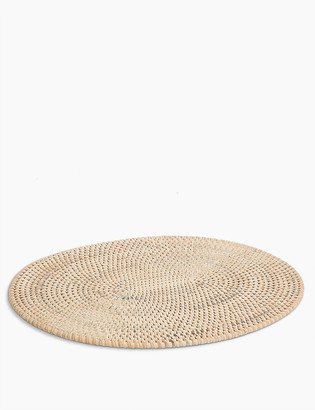 Marks and Spencer Oval Rattan Placemat