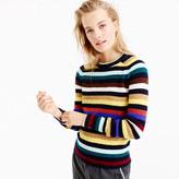 J.Crew Supersoft wool sweater in multistripe