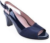Taryn Rose Fortula Patent Leather Slingback Heels