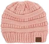 C&C Thick Slouchy Knit Unisex Beanie Cap Hat