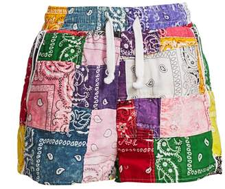 Riley Patchwork Shorts