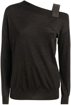 Brunello Cucinelli Cashmere-Silk Blend Top