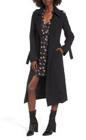 J.o.a. Women's Long Trench Coat
