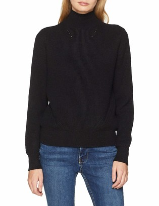 Name It NOISY MAY Women's Nmsati L/s High Neck Hole Knit Noos Jumper
