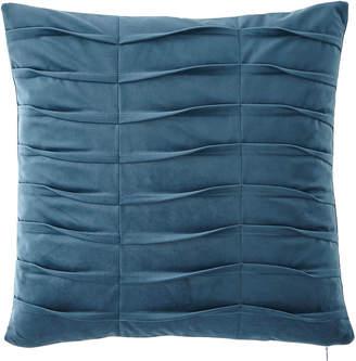 Dian Austin Couture Home Emporium Pleated Velvet Boutique Pillow, Teal