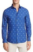 Vilebrequin Spaced Out Turtle Long Sleeve Button-Down Shirt