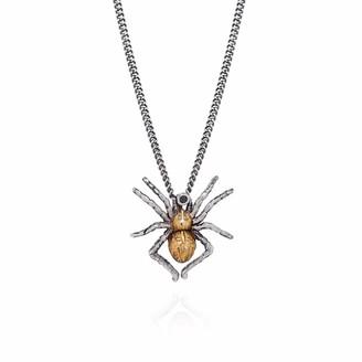 Yasmin Everley Jewellery Gilded Spider Necklace