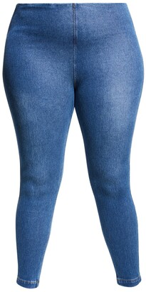 Lysse Plus Size Toothpick Stretch Denim Leggings