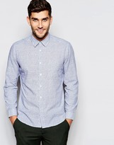 Esprit Shirt With All Over Star Print