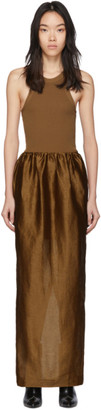 Totême Brown Nonza Dress