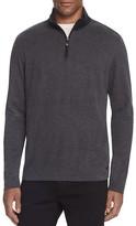 BOSS GREEN C-Piceno Herringbone Half-Zip Pullover Top