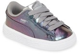 Puma Toddler Girl's Basket Classic Holo Sneaker