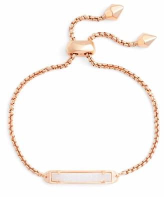 Kendra Scott Stan Bracelet Rose Gold & Iridescent Drusy