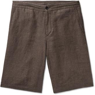 Ermenegildo Zegna Melange Linen Bermuda Shorts