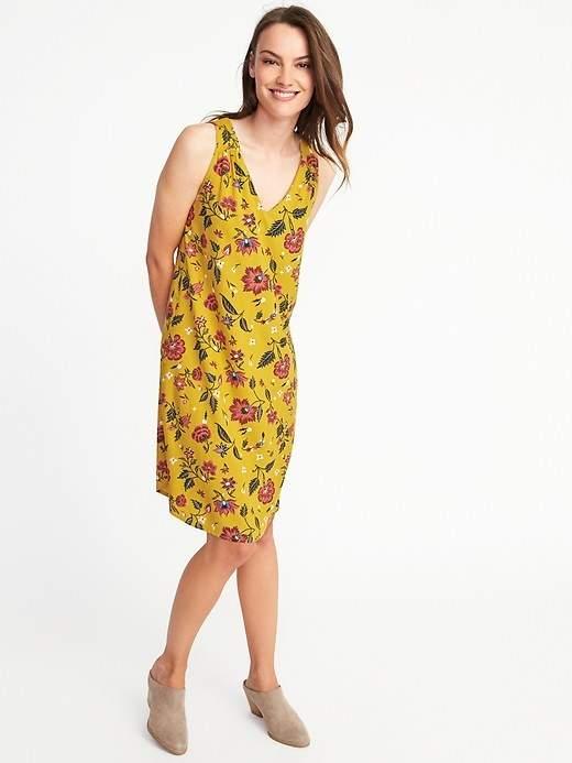 Old Navy Sleeveless Cutout-Back Shift Dress for Women