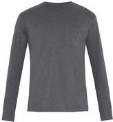 Sunspel Long-sleeved cotton T-shirt