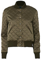 Smythe Quilted Army Green Bomber